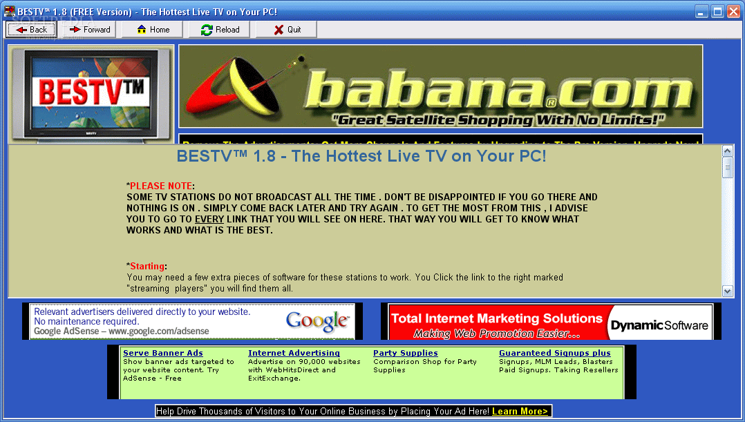Download BesTV The Hottest Live TV On Your PC 1 0