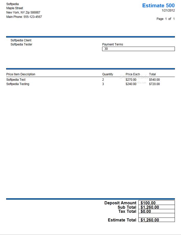 download bid n invoice basic invoice 6111