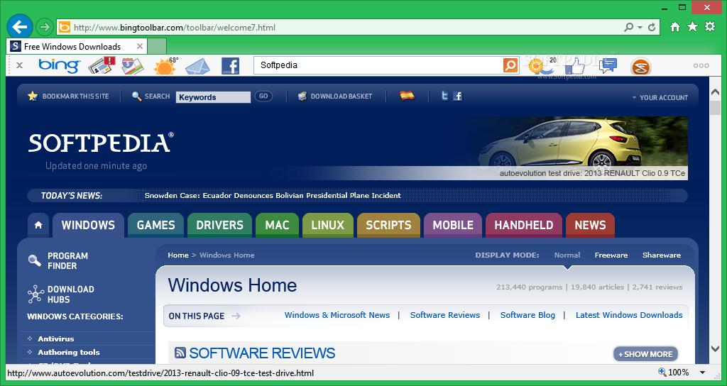 Download Bing Bar 7.3.124.0
