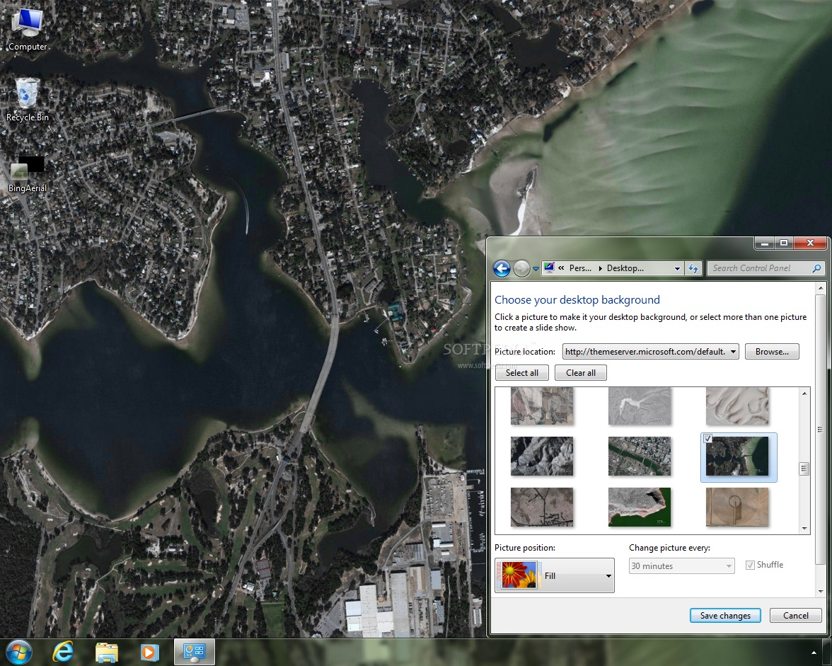 Download bing maps aerial imagery theme united states - Bing theme download ...