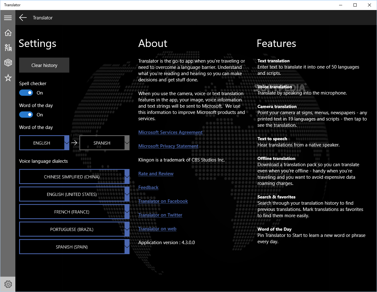 download bing translator windows 7