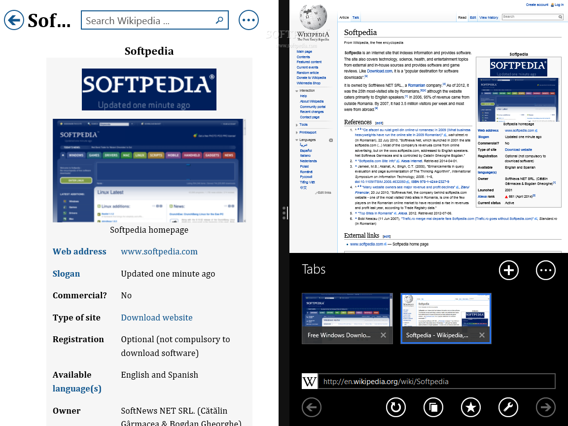 Download Bing Wikipedia Browser 1 0 0 105