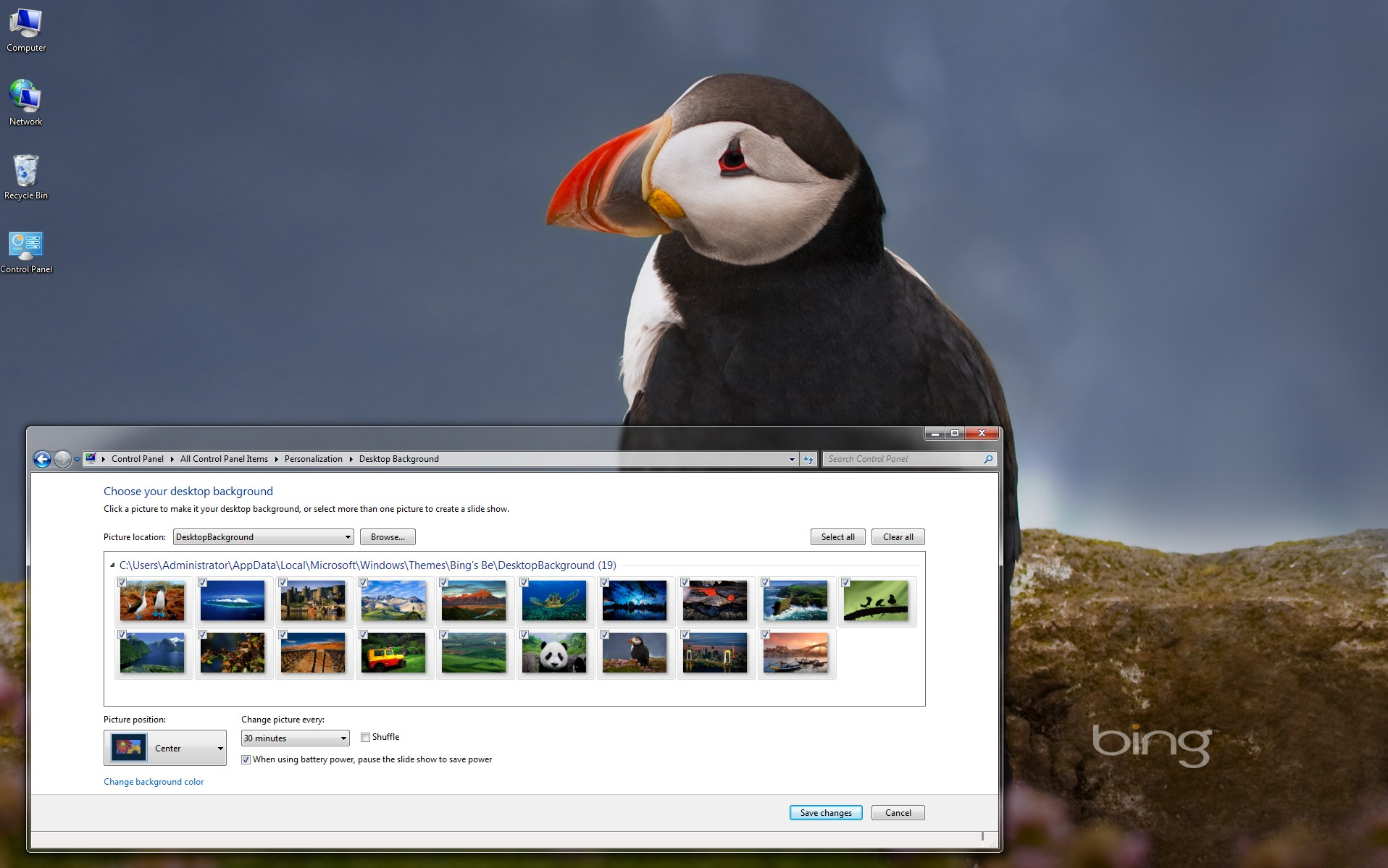 bing s best windows 7 theme 1