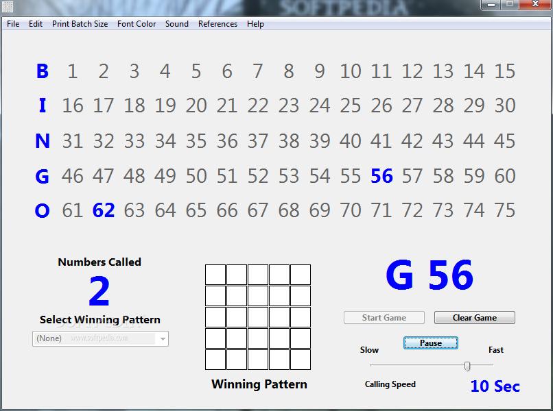 bingo caller download