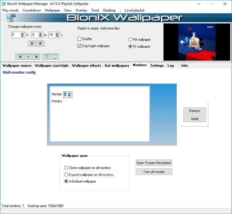 Download Bionix Wallpaper Changer Lite 10930