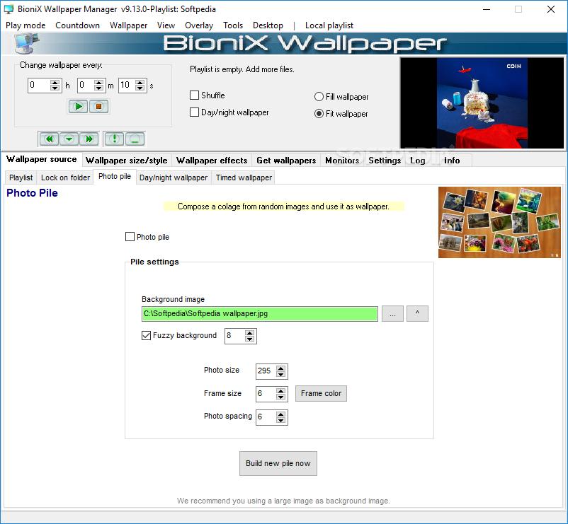 Download Bionix Wallpaper Changer Lite 11 46 12 30 Beta