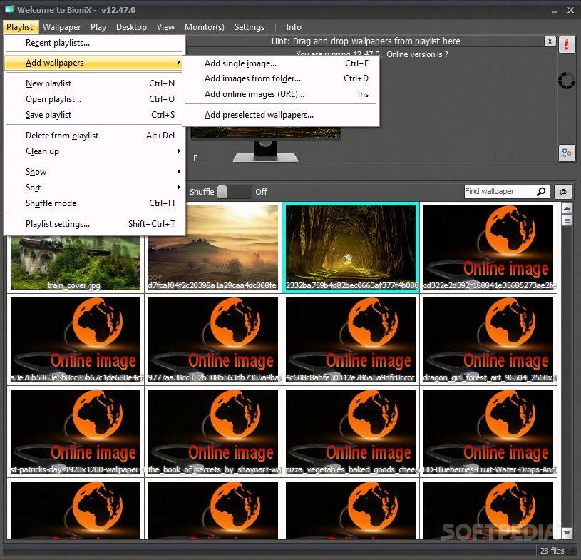 Download Bionix Wallpaper Changer Lite 13 06