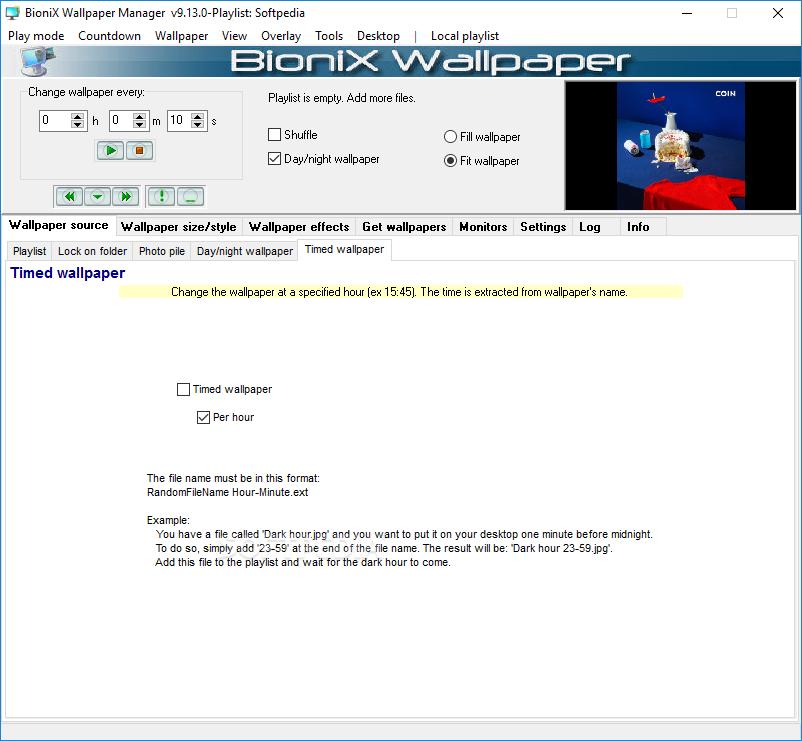 BioniX Wallpaper Changer Lite