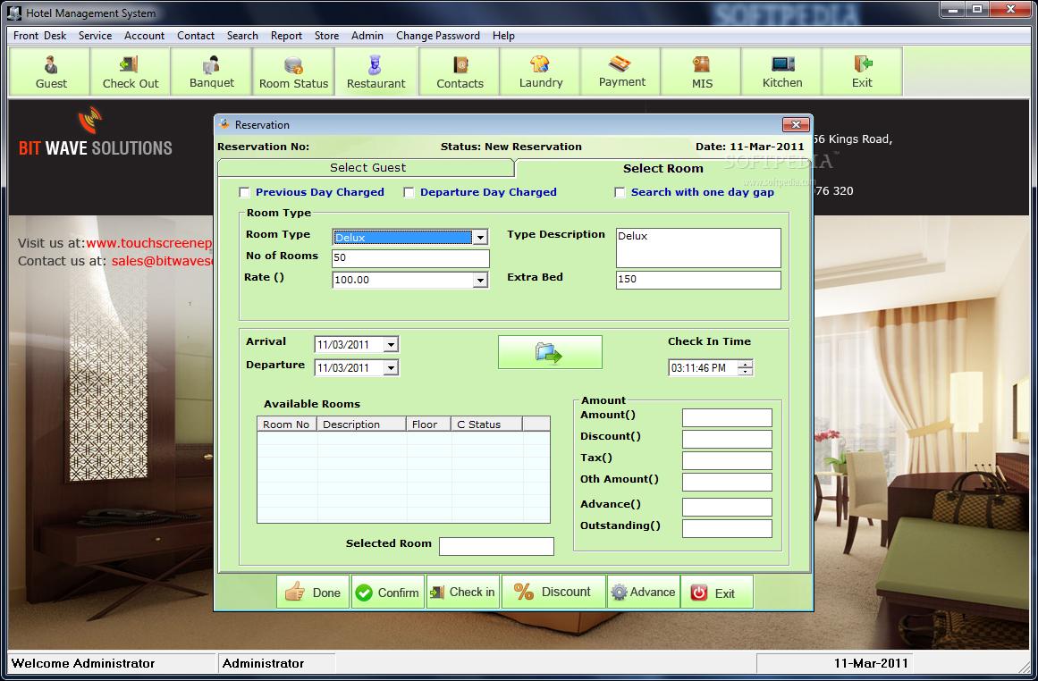 Download Hotel Management System 6 3 0