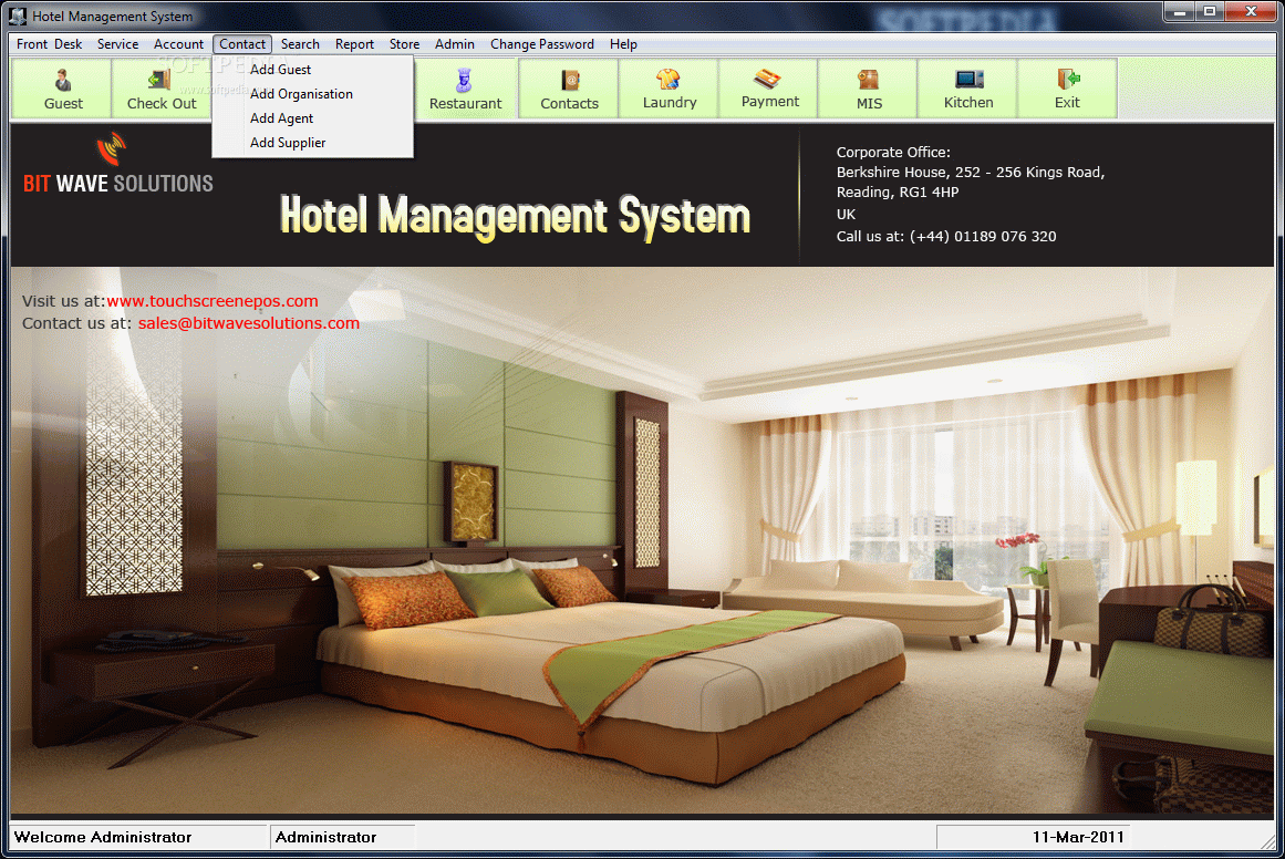 Hotel Management System Download