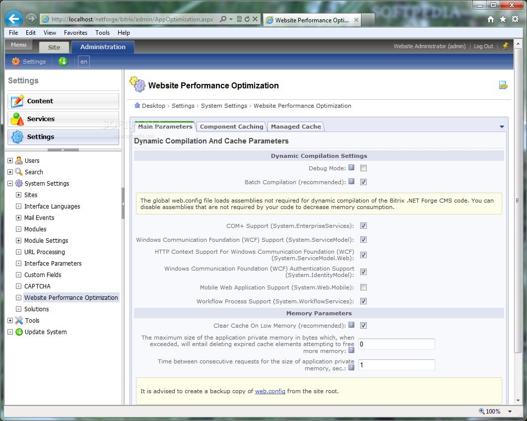 download bitrix asp net cms forge 6 0