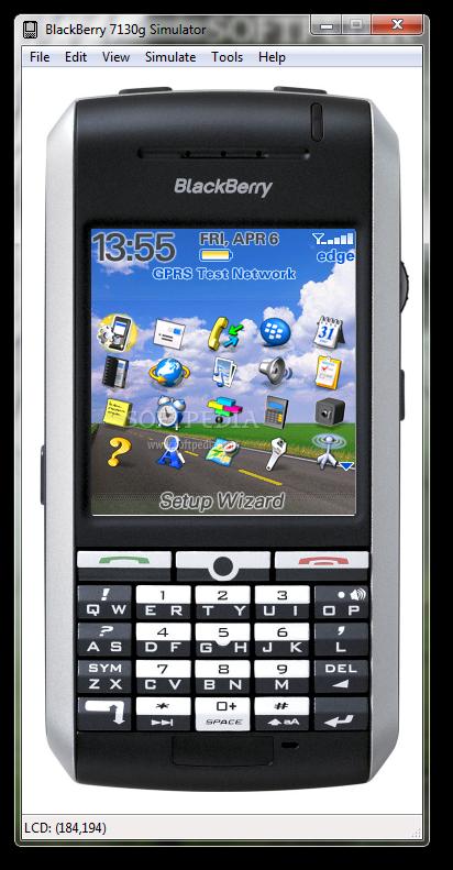 Download BlackBerry 7130g Simulator 4.2.1.93