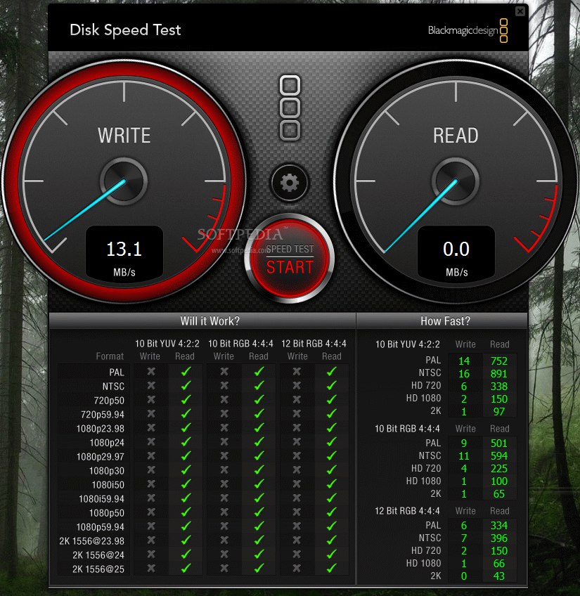 Blackmagic disk speed test download dmg