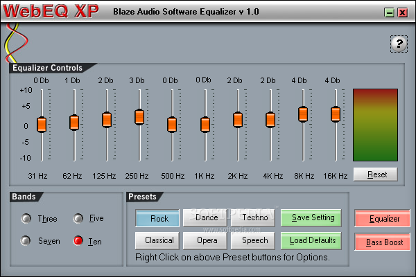 free audio equalizer software for windows xp