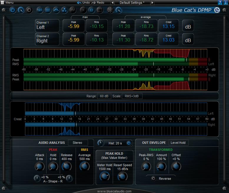 Download Blue Cat's DP Meter Pro 4 2