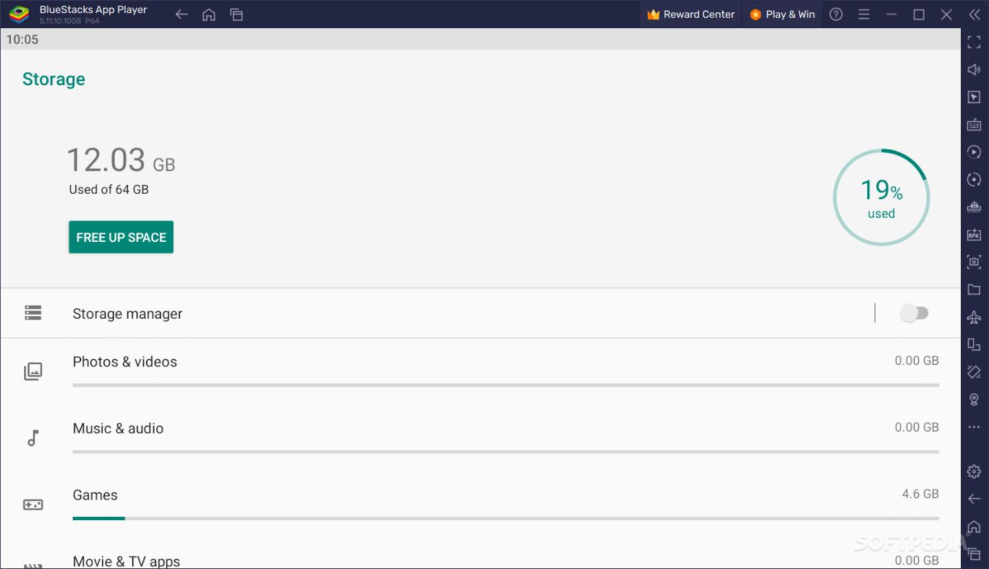 Download BlueStacks App Player 4 130 6 1102 / 3 56 76 1867