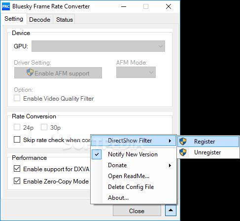 Download Bluesky Frame Rate Converter Portable 2.13.0