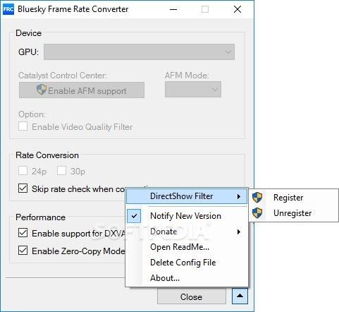 Download Bluesky Frame Rate Converter 2.13.0