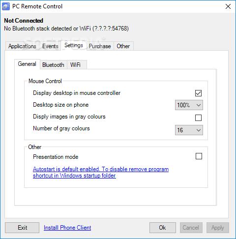 Download PC Remote Control (former Bluetooth Remote Control) 5 3 2