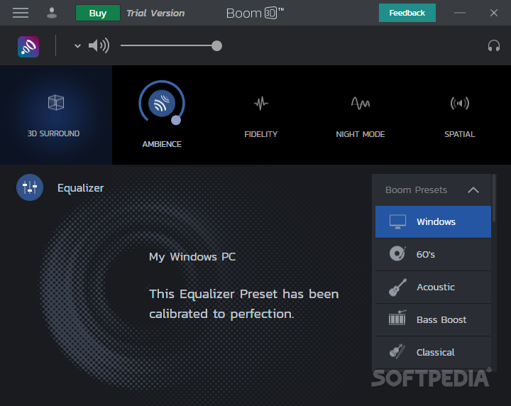 Download Boom 3D Windows 1 0 10