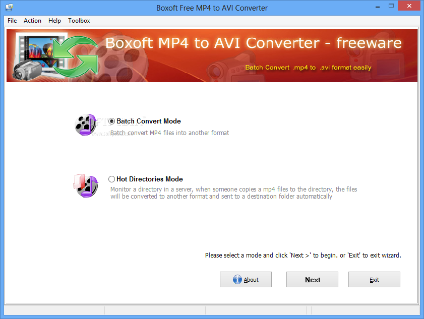 how to change video from mp4 to avi