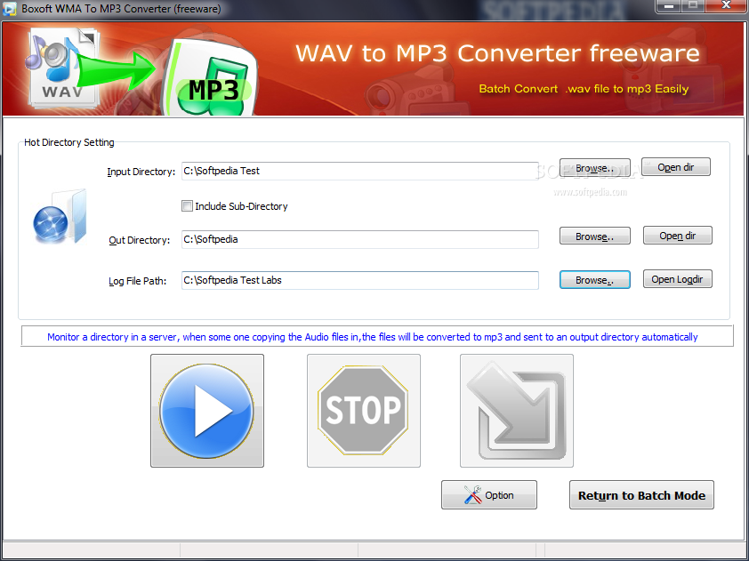 MP3 to WMA - Online Converter