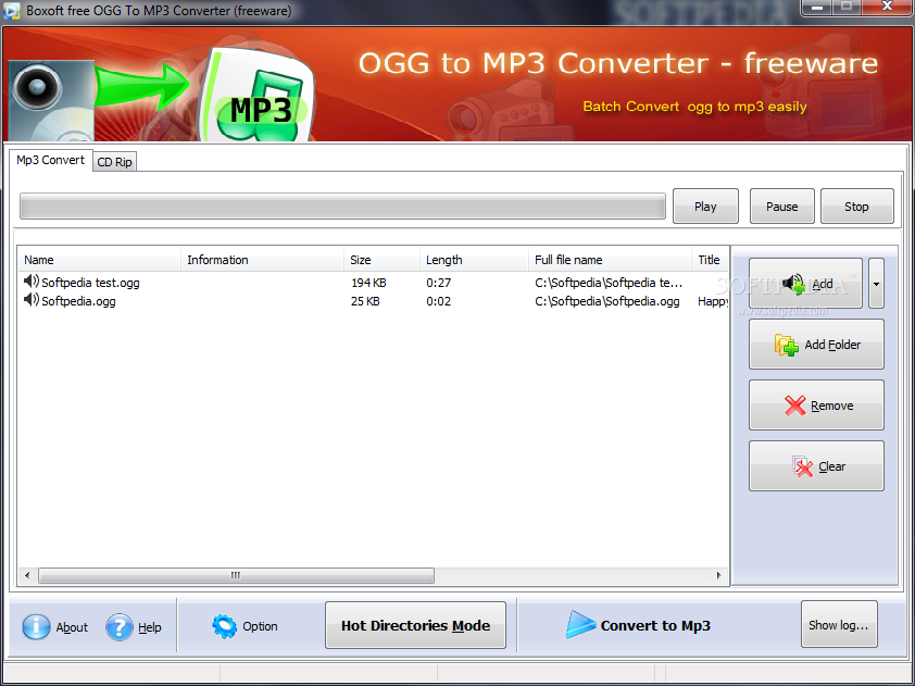 Free MP3 to OGG Converter - Free download and software reviews - CNET Download