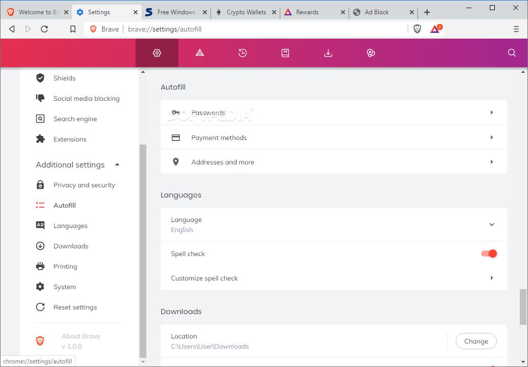 download brave browser for windows 7