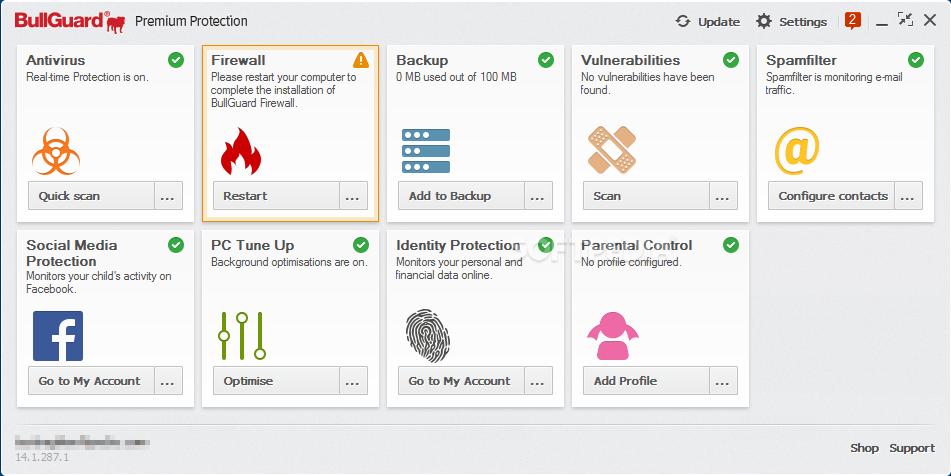 Download Bullguard Premium Protection 19 0 359 1