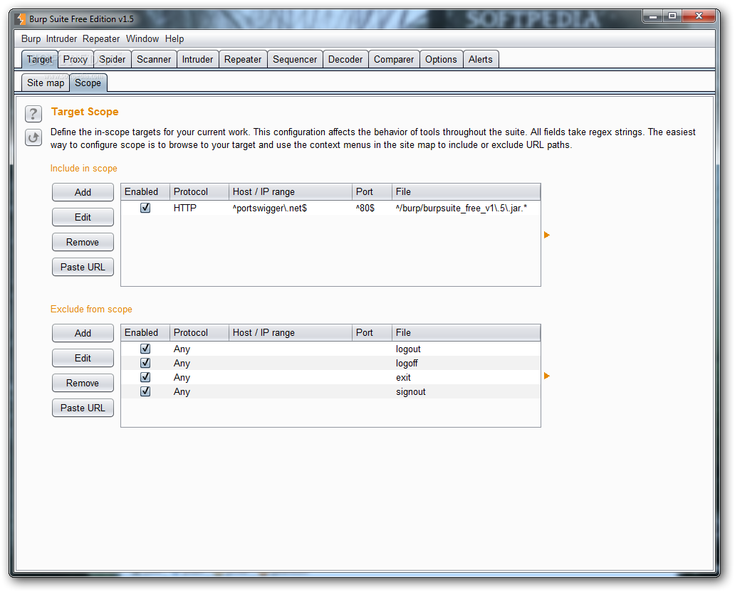 Download Burp Suite 2 1 02