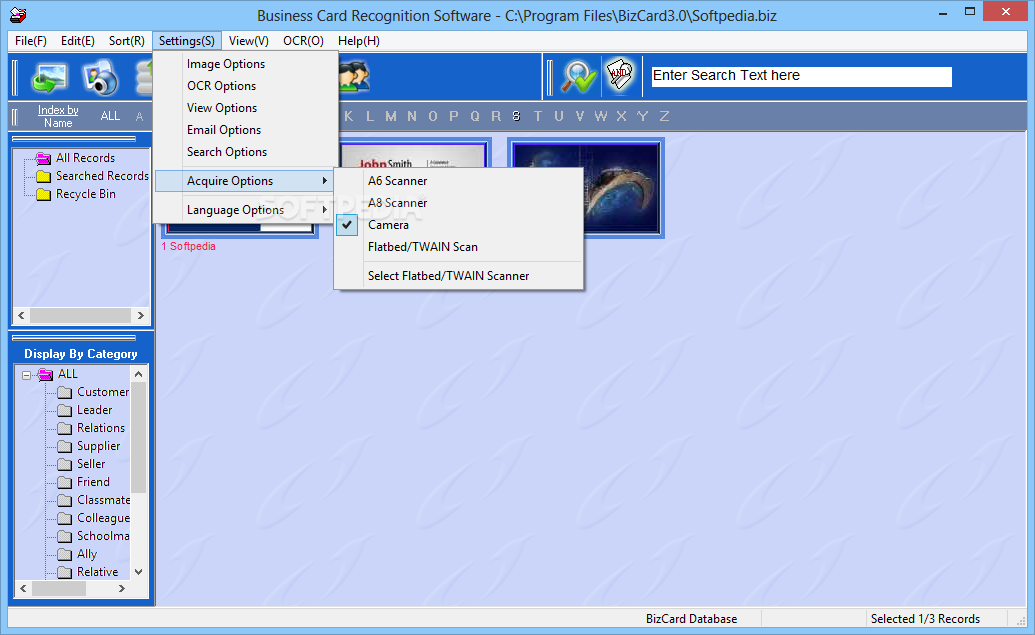 Business Card Recognition Software Download