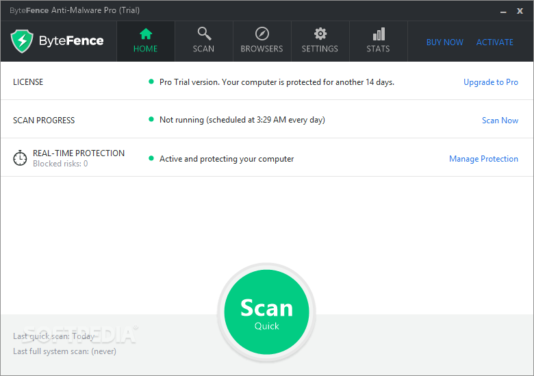 bytefence anti malware license key free 2018