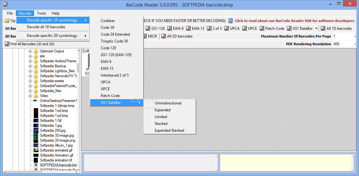 Download Bytescout BarCode Reader SDK 10 2 0 1799