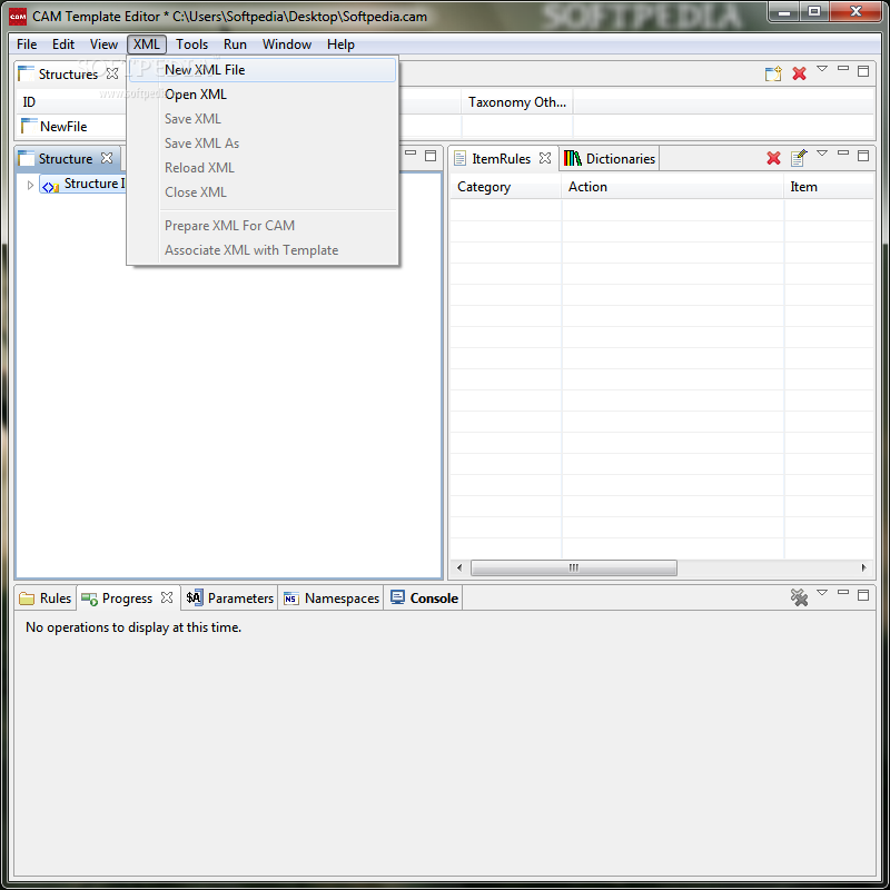 Download CAM Template Editor 3.2.2