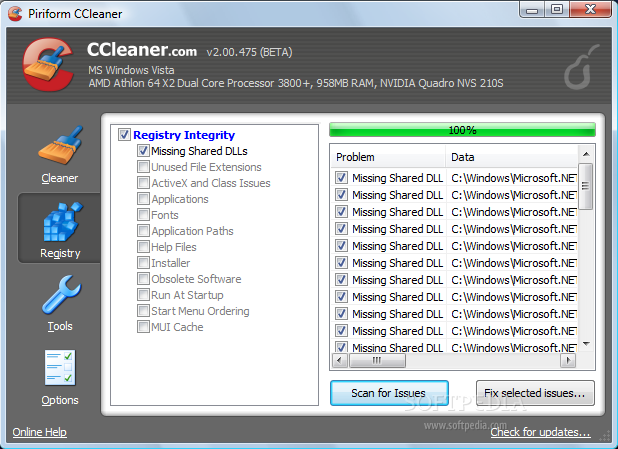 Ccleaner zero out free space