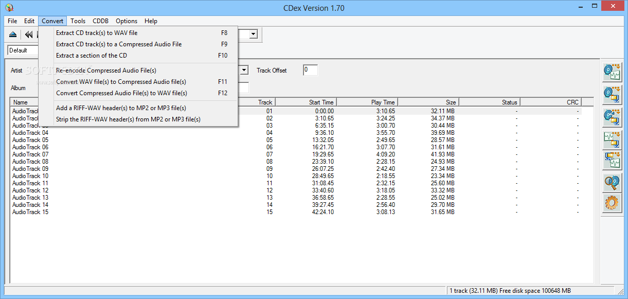 CDex 1.70 64 bit