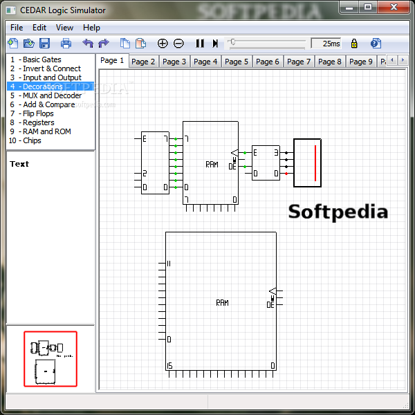 Linux Logic Circuit Simulator - Wiring Diagram •
