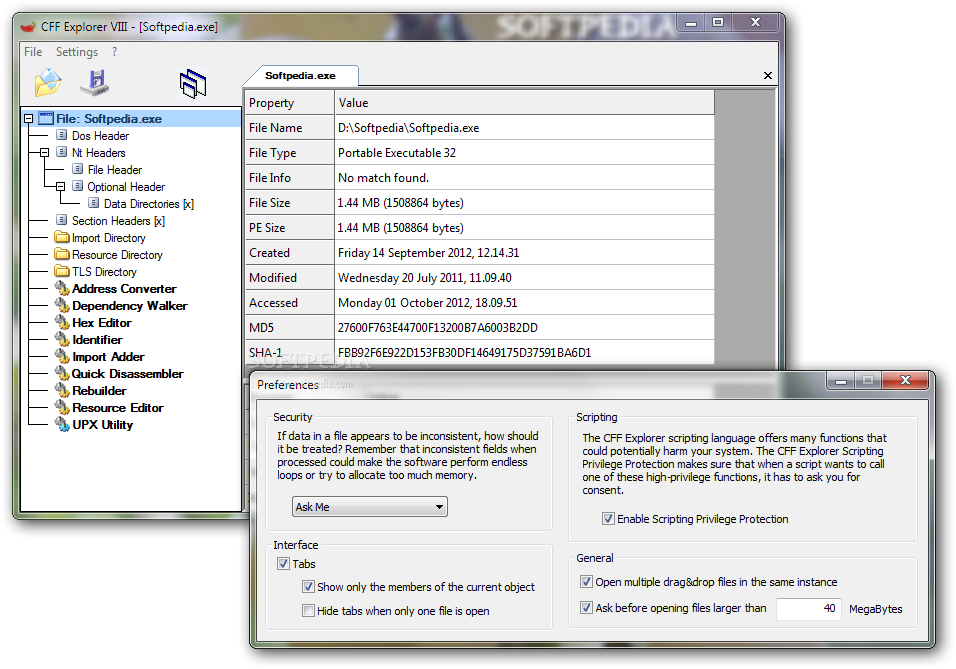 Cff Explorer Windows 10arrowclever
