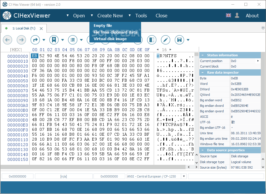 Download CI Hex Viewer 2 0