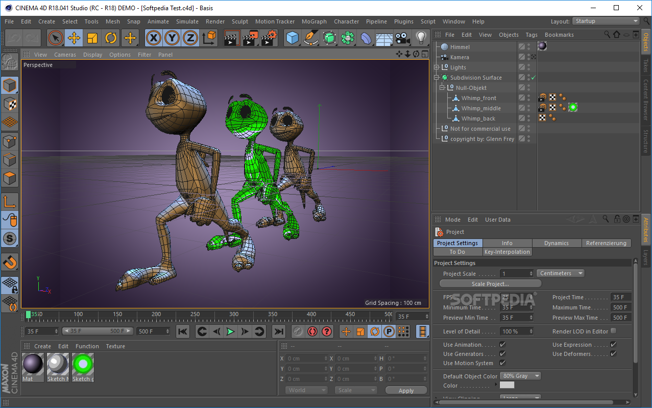 Cinema 4d download softpedia 3d application