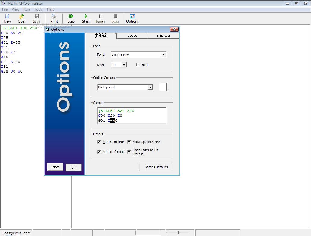 Download CNC Simulator Alpha