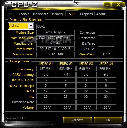 Download CPU-Z ASRock 1 78 1