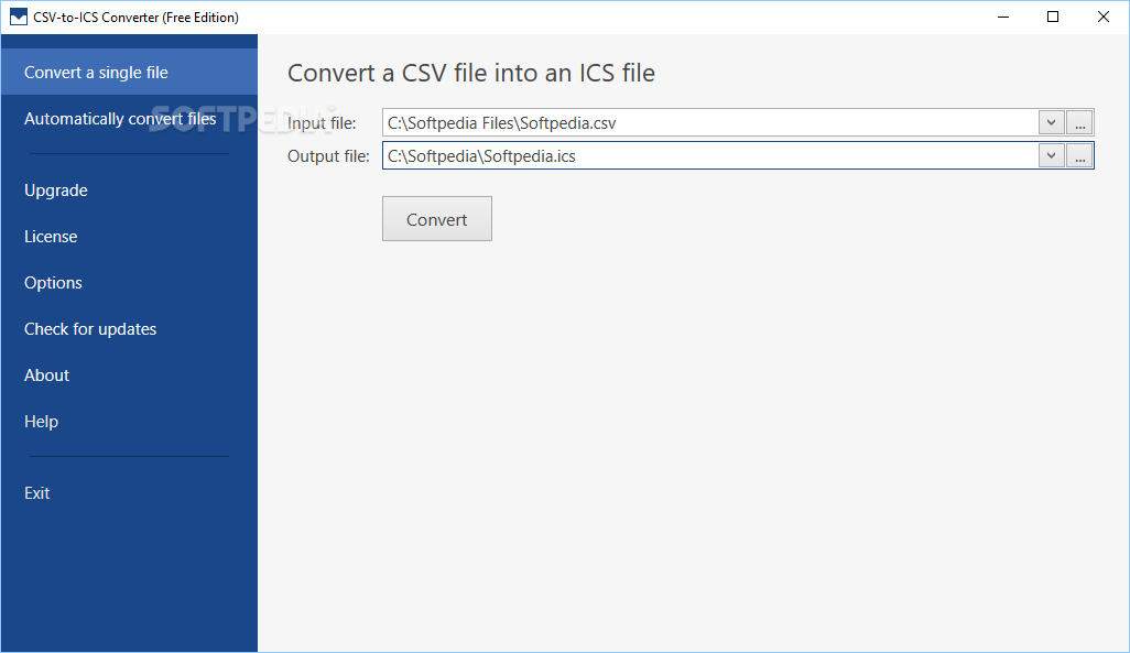 Download CSV-to-ICS Converter 1 5 2