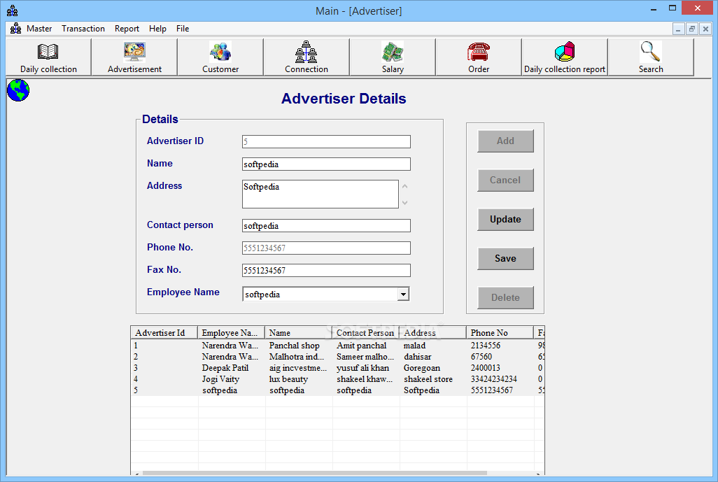 cable tv billing software free download pc