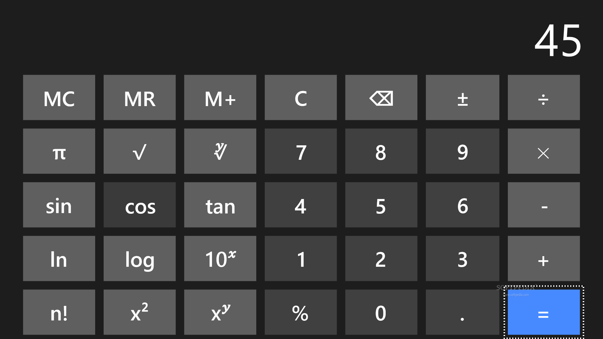 Calculator Rt For Windows 8 Has A Neat Interface That