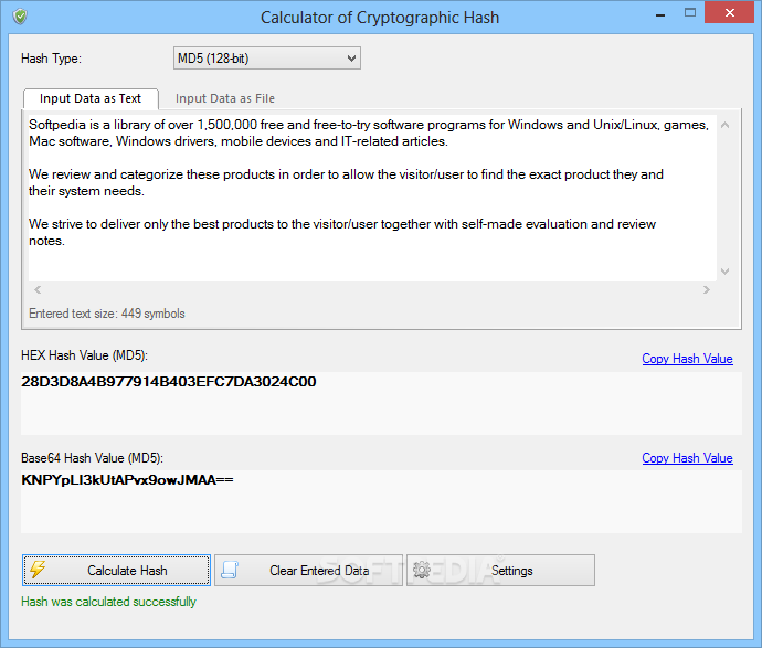 Download VSCryptoHash 2 5 3 509