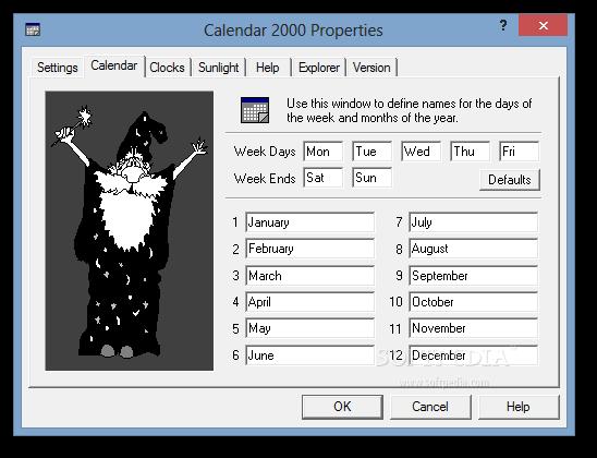 Download Calendar 2000 4 9