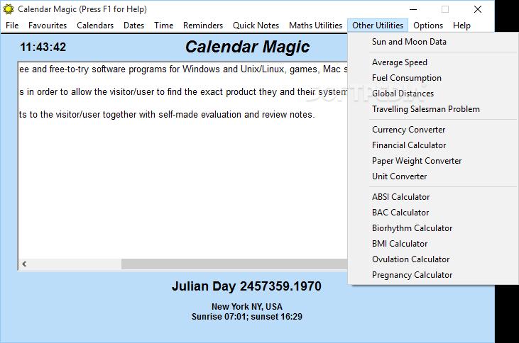 Download Calendar Magic 19 1