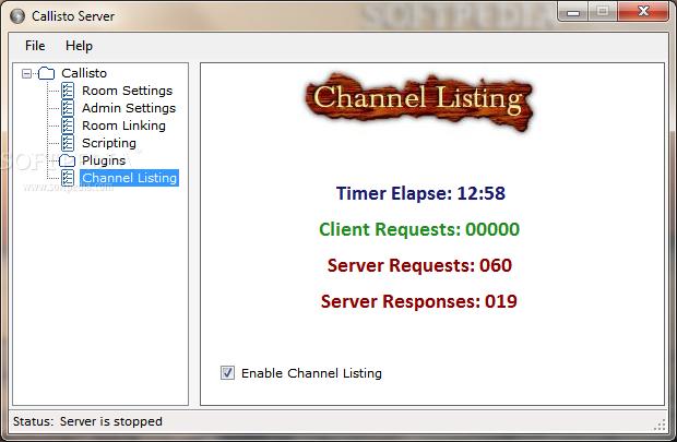 callisto server ares