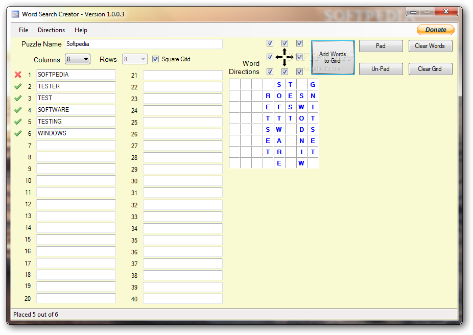 Download Word Search Creator 1 0 0 3